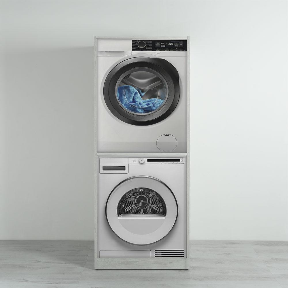 Mobile Per Lavatrice Moderno colonna lavatrice-asciugatrice unika 70x70