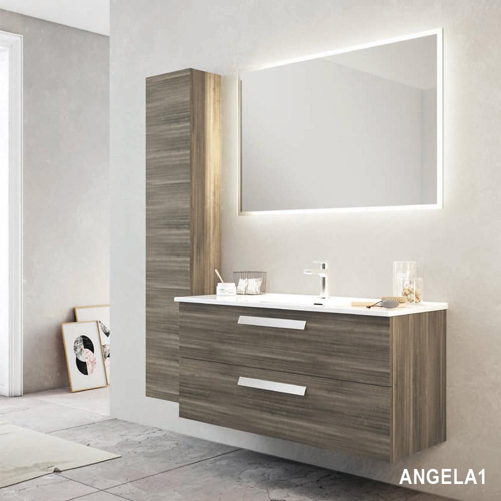 Savini Arredo Bagno Prezzi.Composizione Arredo Bagno Sospeso Angela1 60