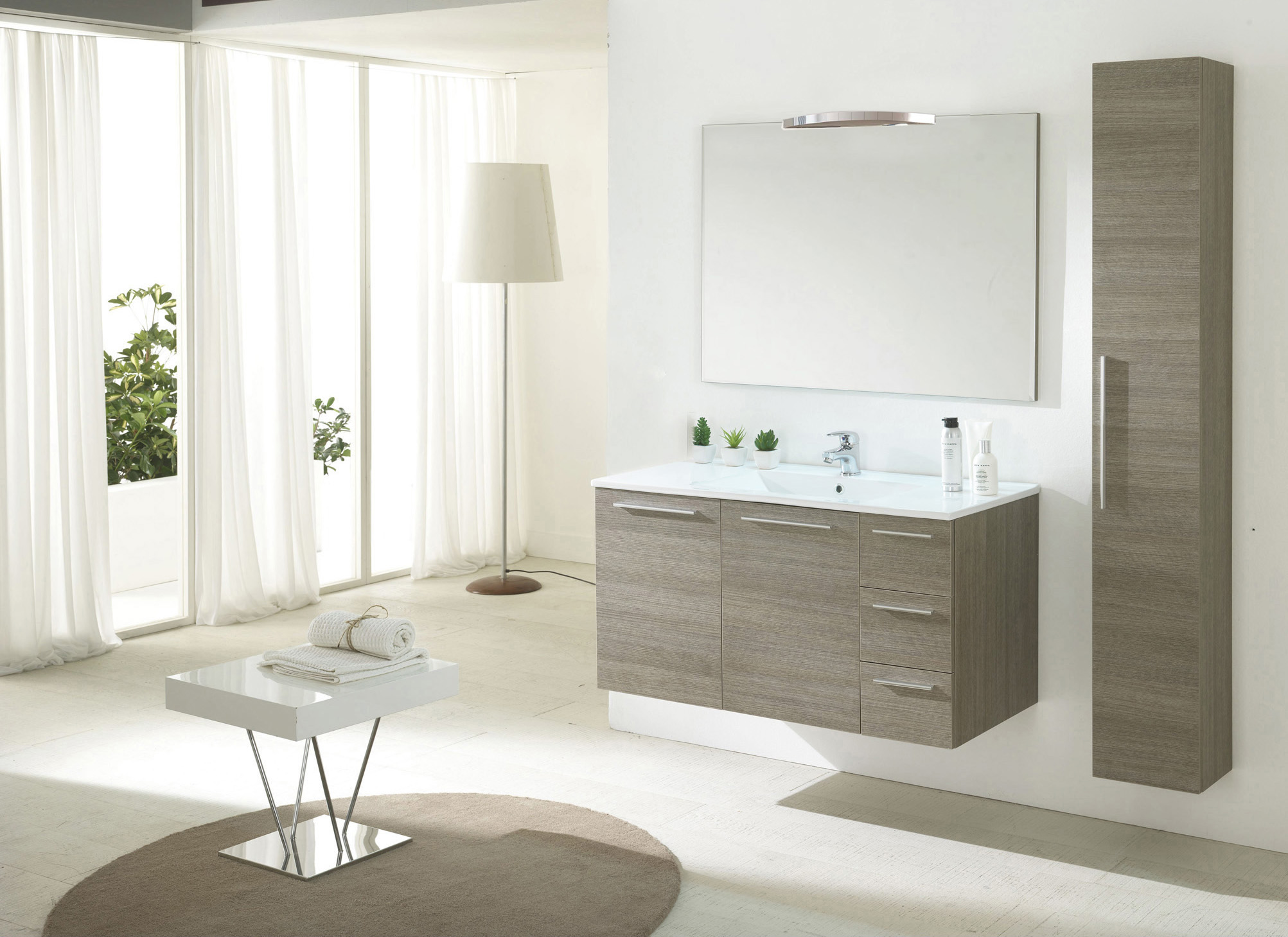 Cucina e soggiorno in 16 mq - Mobili bagno economici ...