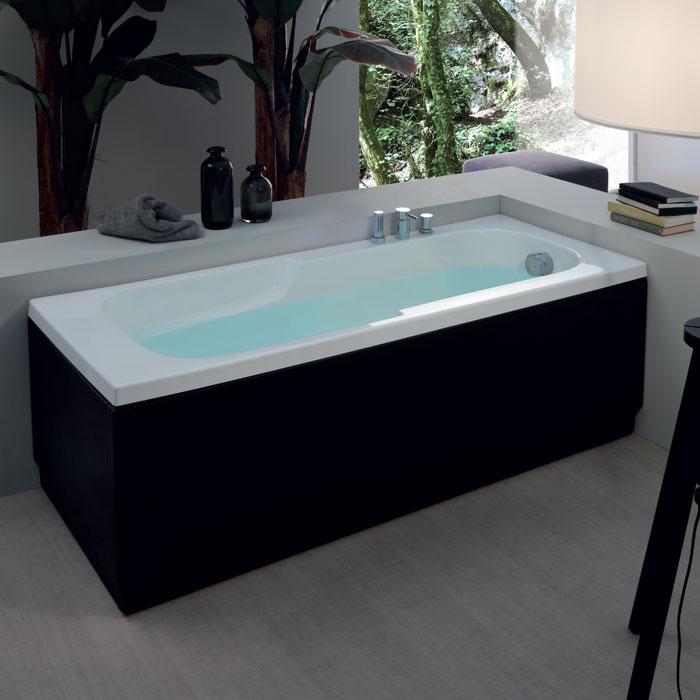 Vasche rettangolari vasca rettangolare astra 170x70xh55 - Misure vasche da bagno rettangolari ...