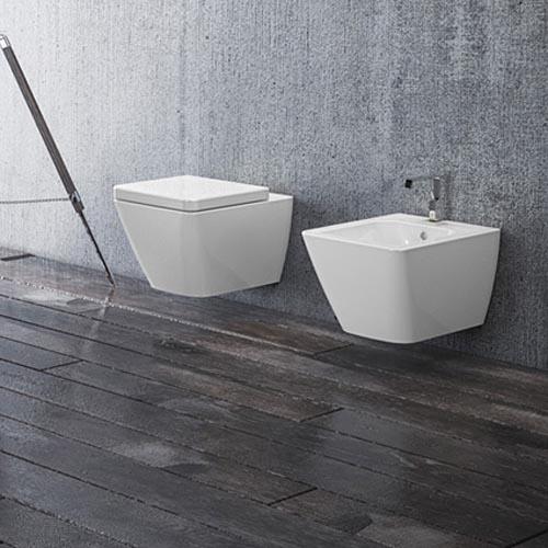 sanitari bagno sospesi touch 3 disegno ceramica