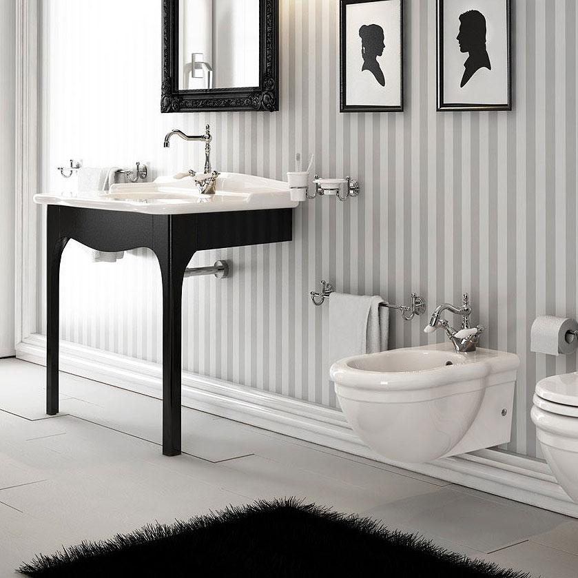 Bagno completo classico sospeso serie ellade - Ceramiche bagno classico ...