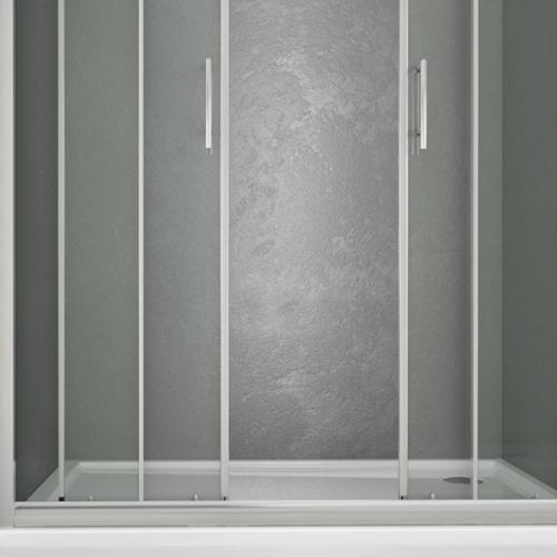 Box doccia 4 ante boiserie in ceramica per bagno - Ante per doccia ...