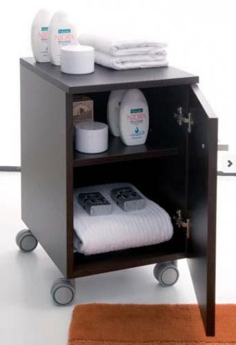 Mobili bagno : Arredo bagno sospeso Zeus 80 Caffè