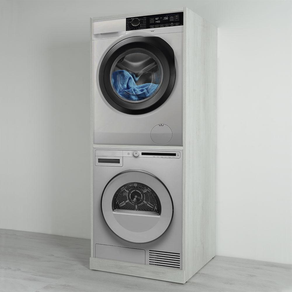 Mobile Lavello E Lavatrice colonna lavatrice-asciugatrice unika 70x70