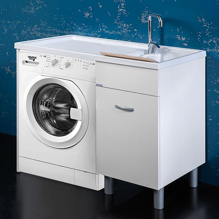 Mobili lavatrice bagno interesting screenshot inviato dal - Mobile per lavatrice ikea ...