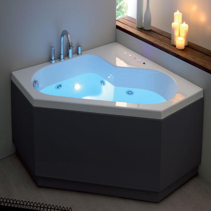 Vasche angolari vasca angolari diamante 120x120xh55 - Vasche da bagno angolari misure ...