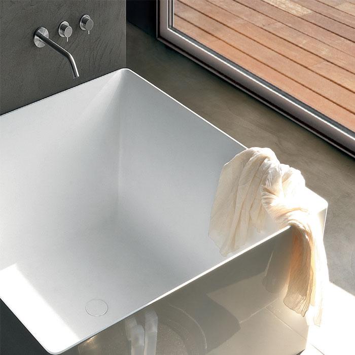 Vasche design: Vasca da bagno Dual Quadrata 120x120xh55