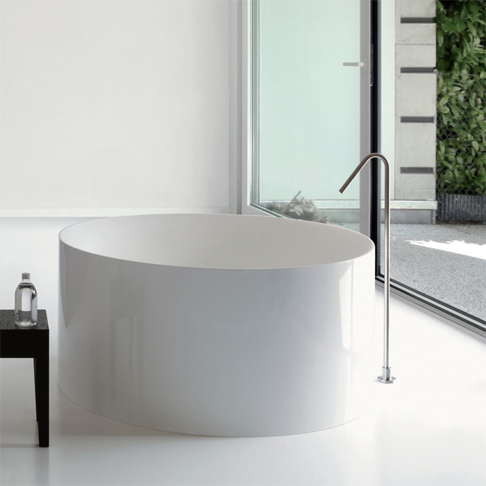 Vasche design : Vasca da bagno Dual Tonda 120xh55