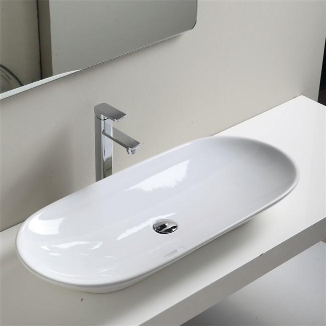 Arredo bagno sanitari e lavanderia vendita on line jo - Lavandini in vetro per bagno ...