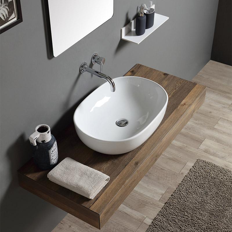 Lavabi da appoggio prezzi e offerte on line per il bagno for Prezzi lavabo bagno