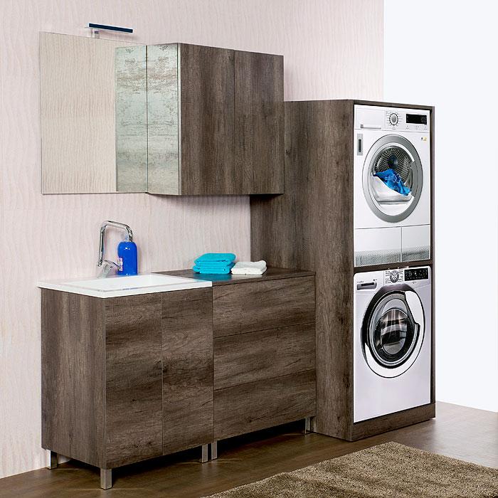 Mobile lavatrice - Mobile per lavatrice e asciugatrice ...