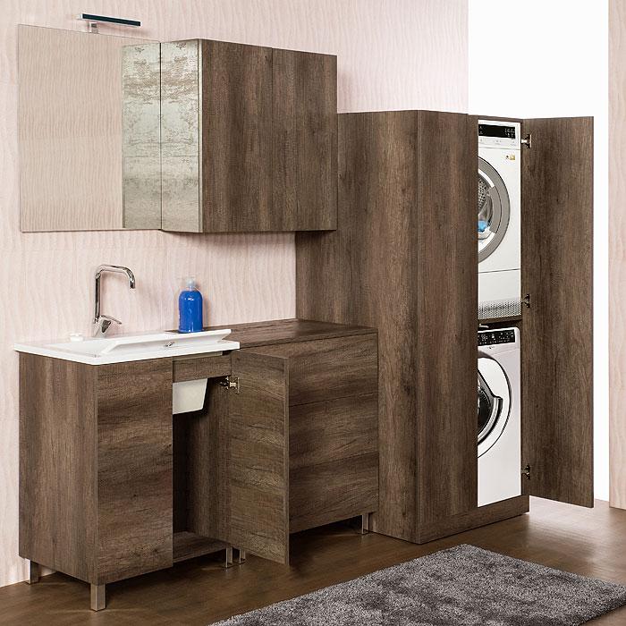 Colonna lavatrice-asciugatrice Unika 70x70