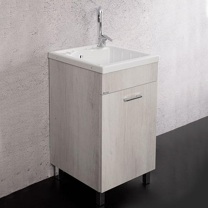 Lavanderia e lavatoi mobile lavatoio unika con vasca - Mobile lavatoio ...