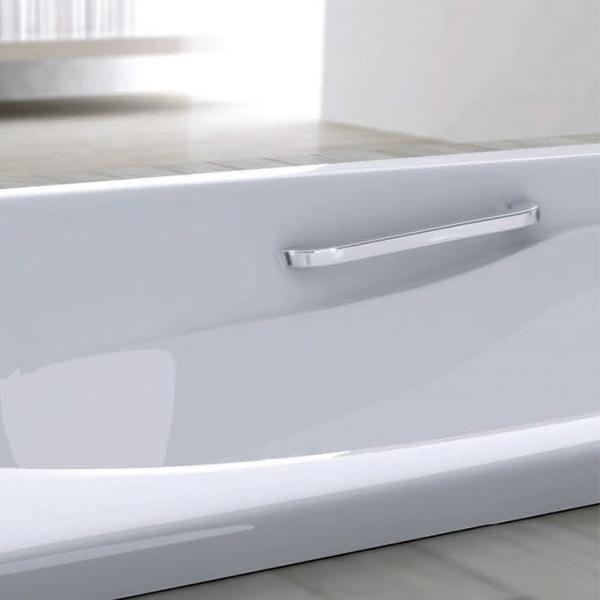 Vasche rettangolari vasca relax etruria 170 - Vasca da bagno acciaio porcellanato ...