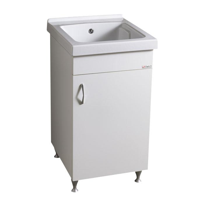 mobile lavatoio e lavastoviglie : Vasca lavapanni con mobile 46x51 tutta vasca