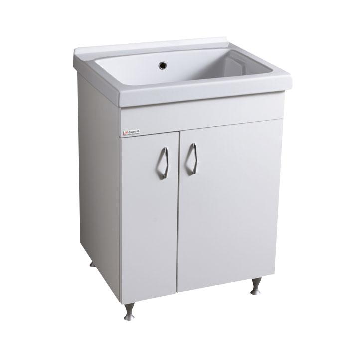 Lavatoi in ceramica lavatoio in ceramica 60x50 con mobile bianco - Lavatoio ceramica con mobile ...