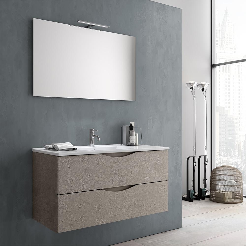 Armadietto Bagno Moderno mobile bagno moderno 100 marte