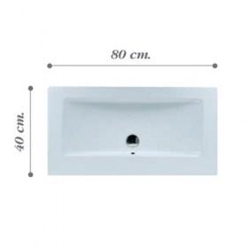Lavabi incasso lavabo mini light 100 - Mini lavabo bagno ...