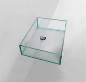 Lavabi Cristallo Per Bagno.Lavabi In Vetro
