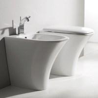 Sanitari bagno pavimento e filomuro sanitari bagno a - Misure scarichi bagno ...