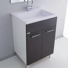 Mobile lavanderia con lavabo in acrylresin 60x50 Zeus