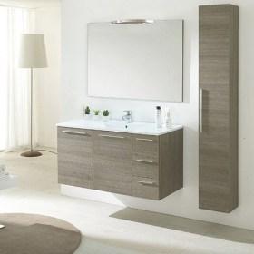 Mobili bagno economici: Mobile bagno sospeso Raffaella 100 cm