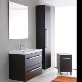 Specchio Bagno 80.Mobile Bagno 80 Sospeso Con Specchio E Lampada Al Led Offerta Outlet