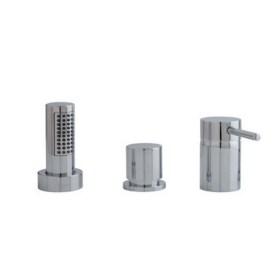Rubinetteria bordo vasca rubinetteria per vasca da bagno a 3 fori - Bordo vasca da bagno ...