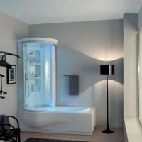 Vasche combinate vasca combinata wap box 150x100xh210 - Vasca da bagno combinata ...