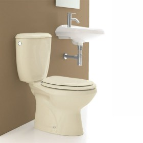 Wc monoblocco Fly color Champagne Opera Sanitari