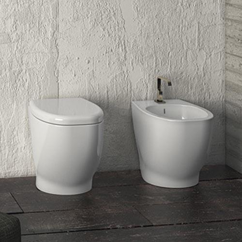 Disegno Ceramica Weg.Sanitari Bagno A Terra Weg
