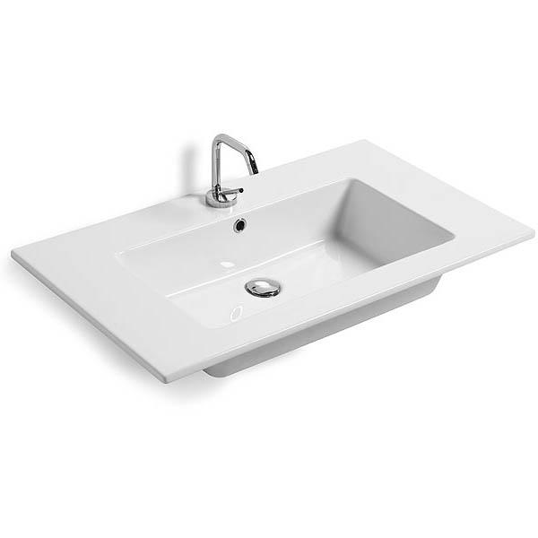 Lavabi incasso lavabo da incasso per mobile sleek - Lavandino da incasso bagno ...