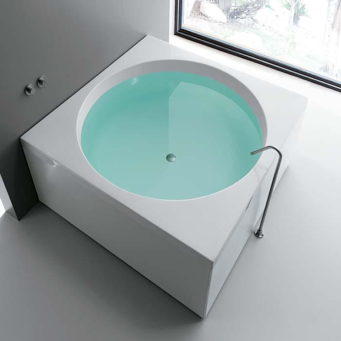 Vasche rettangolari vasca sharm quadrata 150x150x68 - Misure vasche da bagno rettangolari ...