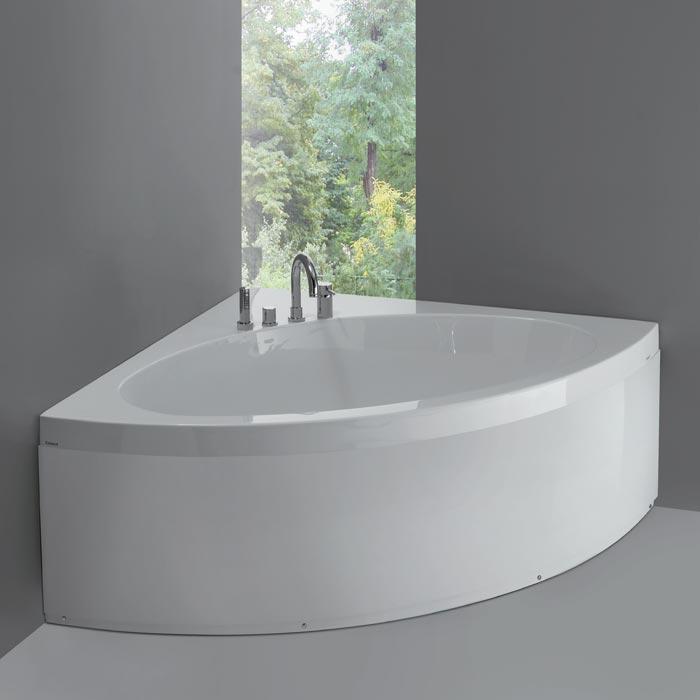 Vasche angolari vasca sharm angolare 140x140xh60 - Misure vasche da bagno angolari ...