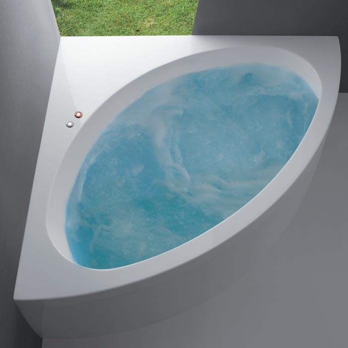 Vasche angolari vasca sharm angolare 140x140xh60 for Dimensioni vasche da bagno angolari
