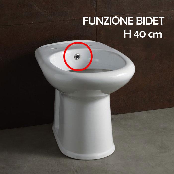 Vaso Bidet Combinato Ideal Standard.Wc Con Funzione Bidet Salva Spazio